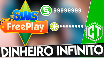 THE SIMS FREEPLAY DINHEIRO INFINITO/ANDROID/2018