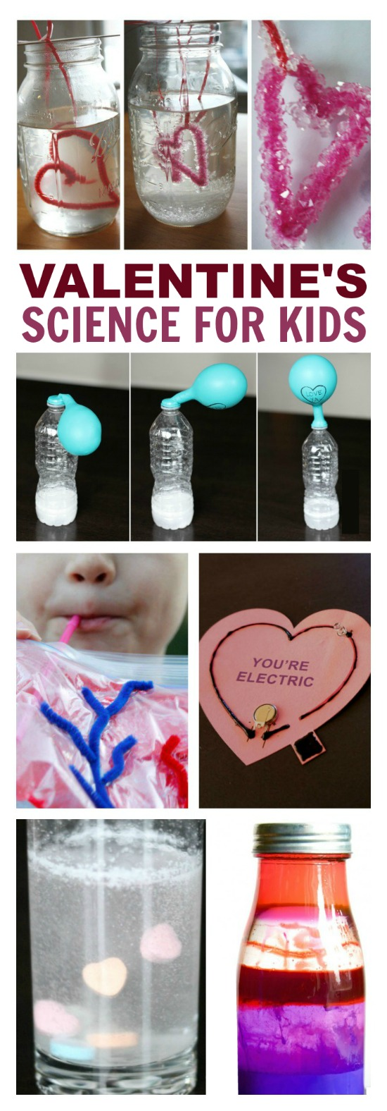 VALENTINE'S SCIENCE FOR KIDS- 16 fun experiments!