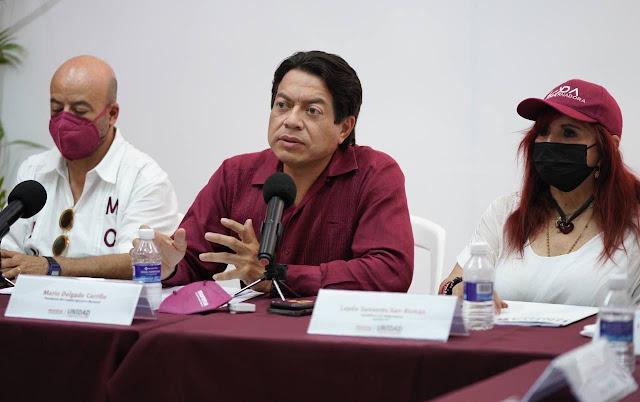 Tenemos que evitar que gobernadores corruptos estén en el poder: Mario Delgado