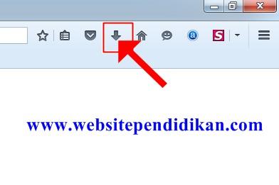 Mengecek Hasil Unduhan di Mozilla Firefox