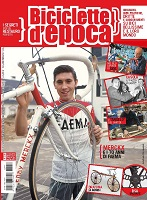 Eddy Merckx dans un magazine italien sur le vélo vintage