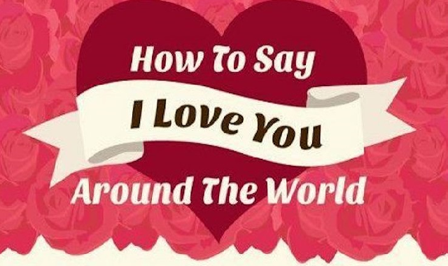 How To Say 'i Love You' In 50 Different Languages #infographic