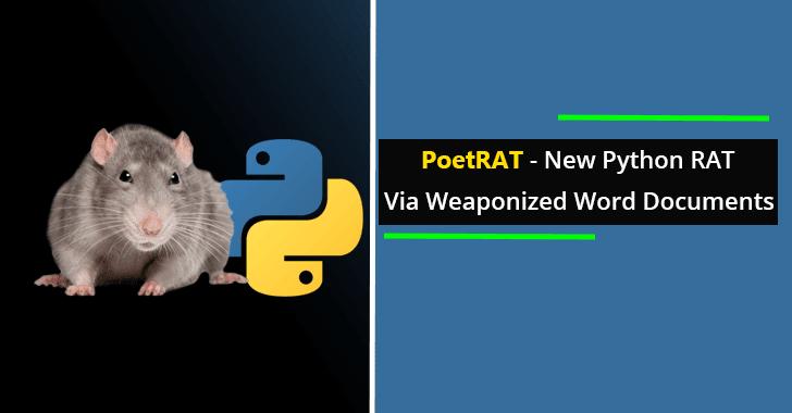 PoetRAT Python-based RAT