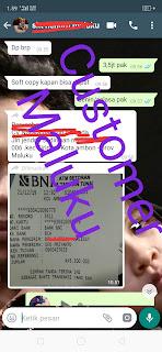 Testimoni Pemesanan www.jasapembuatanska.com