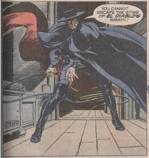 El Diablo from Weird Western #13 (1972). Property of DC comics.
