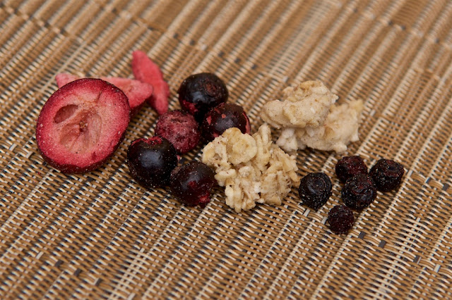 Breakfast cereals - Jordans - Country Crisp 3 baies - Petit-déjeuner - Cranberry - Blackberry -Myrtille - Blueberry - Cassis