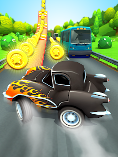 Download game Car Racing Run Mod Apk v1.1.1 Full version