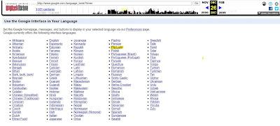 Outils linguistiques de Google en 2007