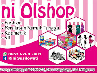 Desain Banner Online Shop Rini Olshop Pringsewu