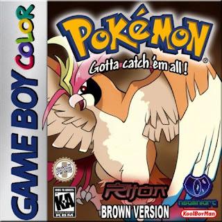 pokemon brown 2014 gbc cover