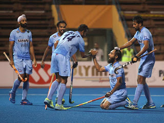 Spotlight : Indian Hockey Team Enter Final Of Four Nations Invitational Tournament.