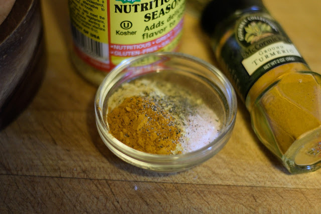 The seasoning used in the Easy Tofu Scramble.