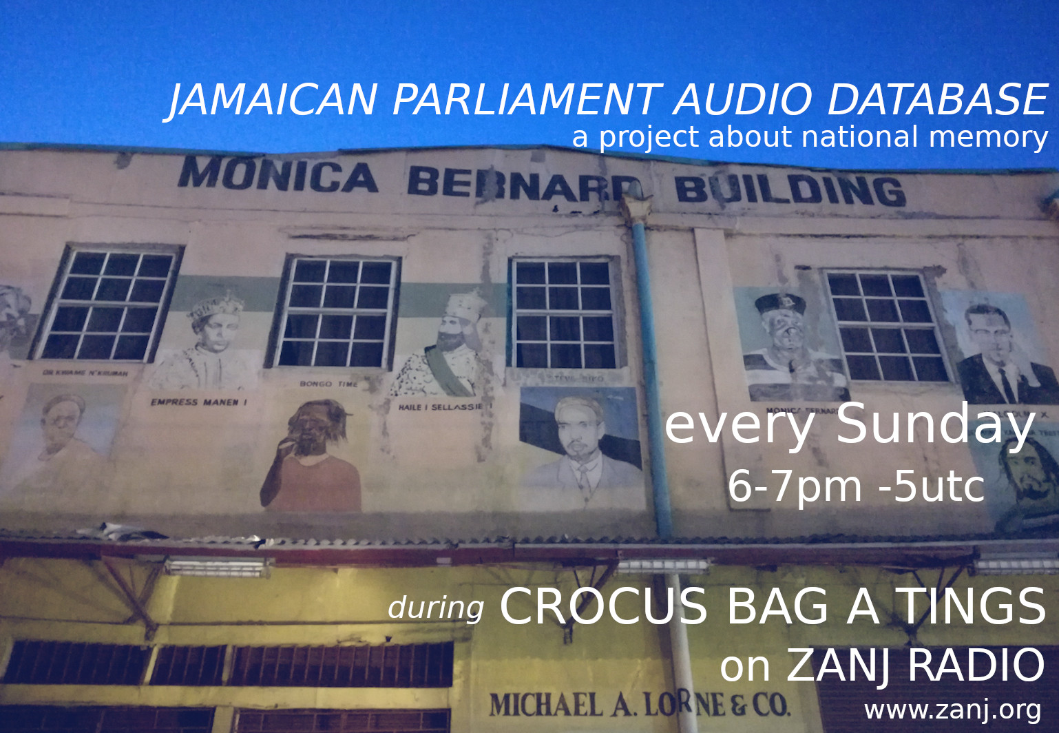 The Jamaica Parliament Audio Database