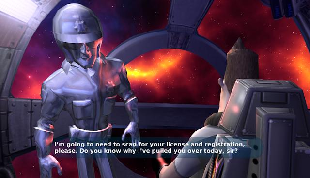 Screenshot from SpaceVenture