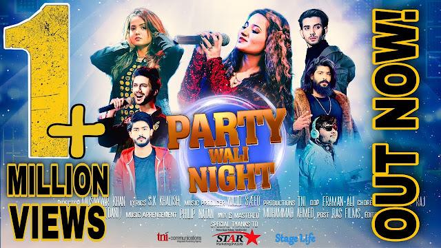 Party Wali Night Lyrics - Rabeeca Khan