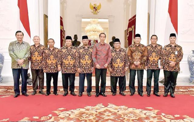 Presiden Jokowi Mendukung Program Kerja DPP LDII