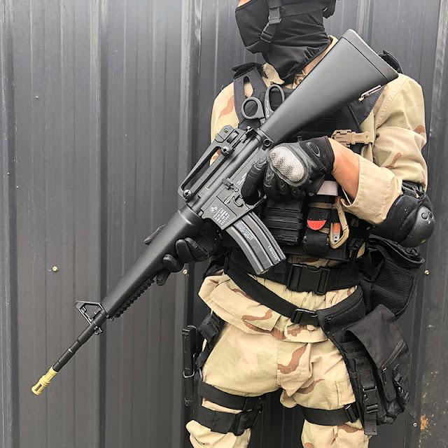 Súng đạn thạch M16
