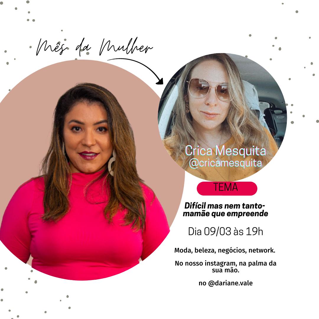 Mês da Mulher ao vivo em Brasília: um convite à você, mulher!