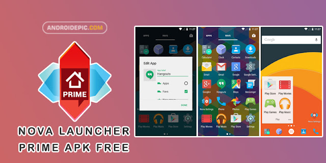 Download Nova Launcher Prime Apk Terbaru - androidepic.com