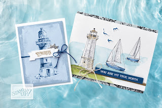 Stampin' Up! 14 Come Sail Away ~ Sailing Home Projects ~ 2019-2020 Annual Catalog