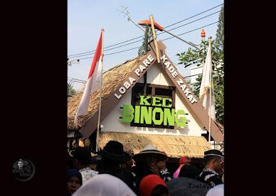 Pawai Pembangunan Meriahkan HUT Kab. Subang ke-68, Kecamatan Binong. Foto dapet nyomot dari Mang Teguh Jatayu ( TJ )