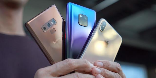 إحصاءات عالمية عن مبيعات الهواتف الذكية ، ماهي الشركات المسيطرة عن هذا السوق ؟