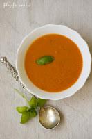 (zupa z pieczonych pomidorow i mascarpone