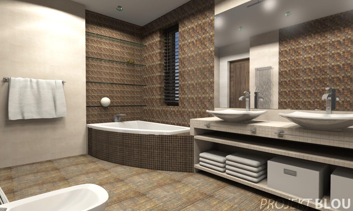 Projekt Wnętrza łazienki 3 Warianty Blog Wnętrzarski