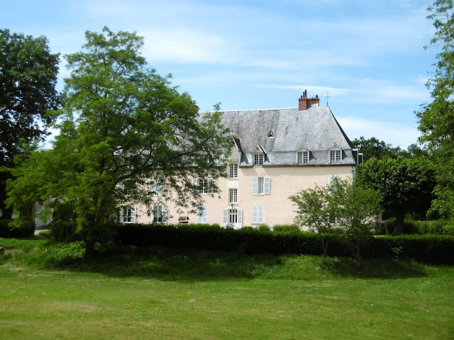 Chateau des Effes, Indre. France. Photographed by Susan Walter. Tour the Loire Valley with a classic car and a private guide.