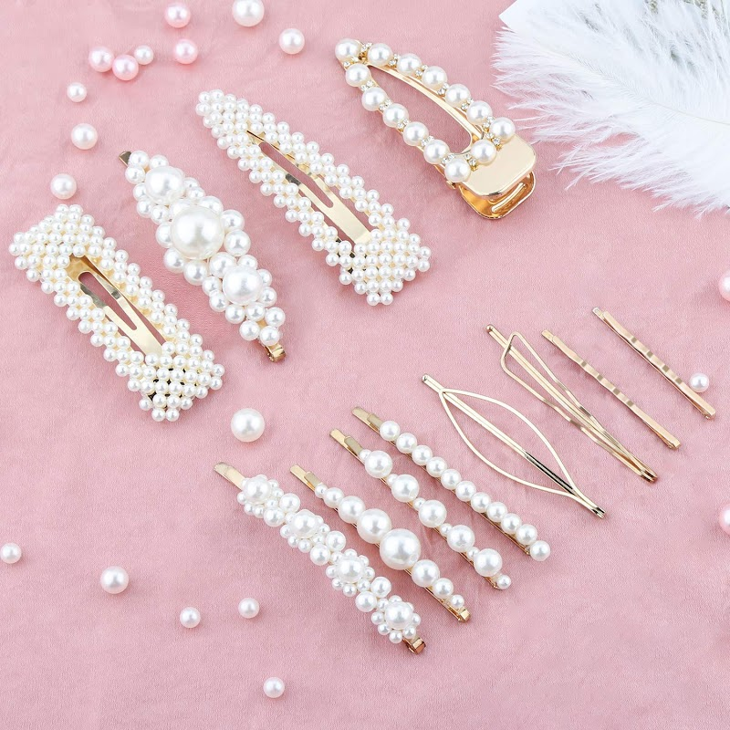 AMAZON - 35% off Pearl Hair Clip for Women Girls