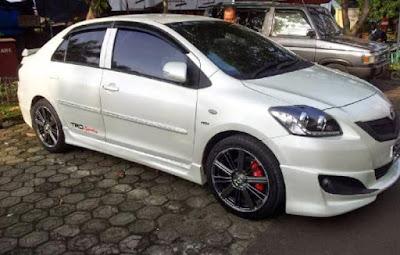 Toyota Vios Sporty White