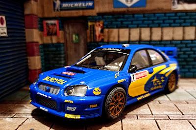 Subaru Impreza WRC Rally Gales 2003