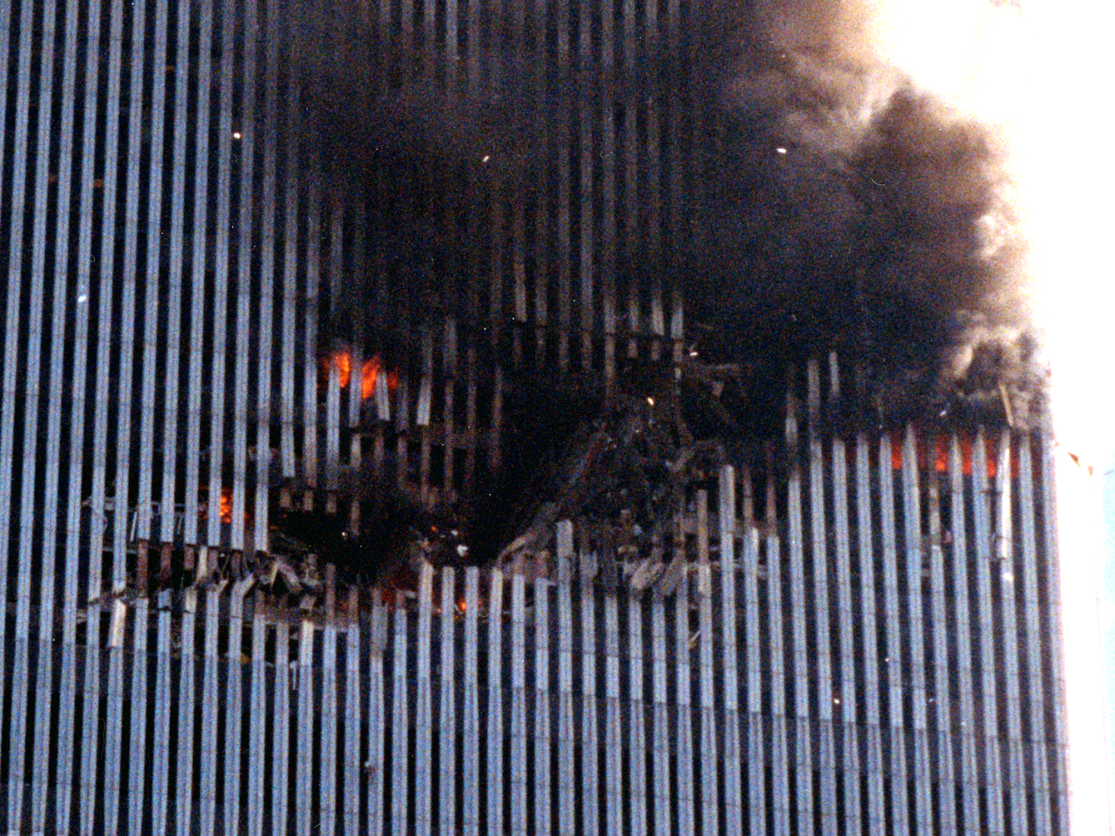 WTC2 Airplane Hole