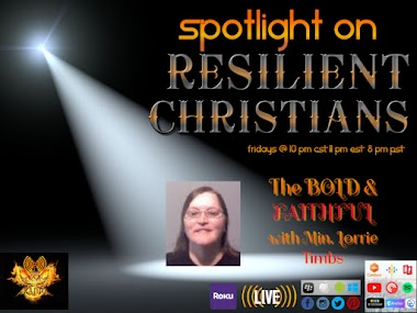 Spotlight on RESILIENT CHRISTIANS: Minister Lorrie Timbs