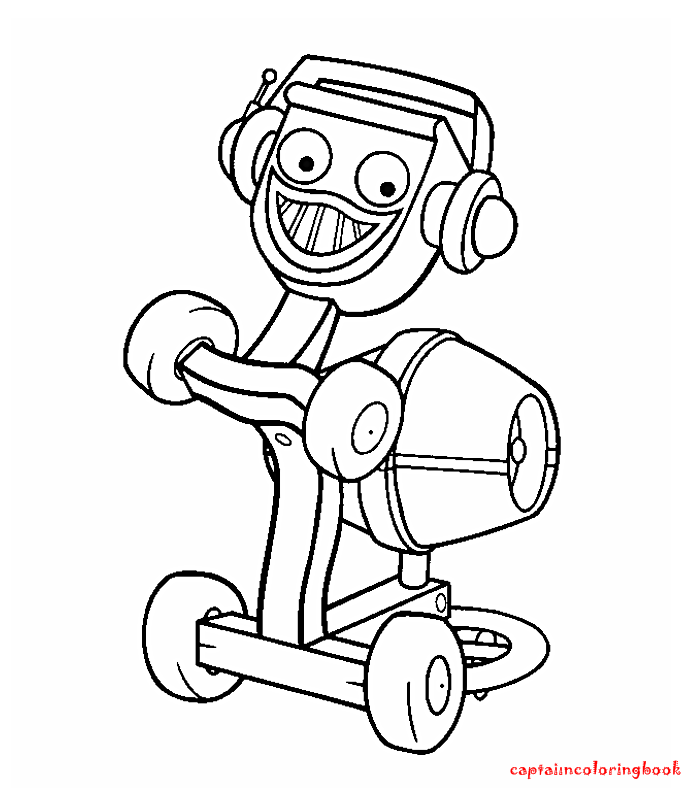 Bob The Builder Coloring book - Coloring Page