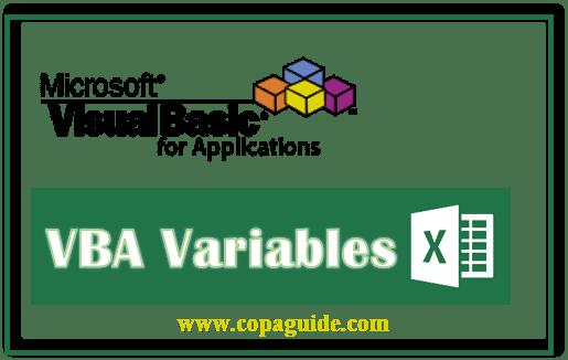 Declare a Variable in VBA Hindi Notes