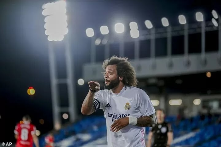 Marcelo 'involved in bust-up with boss Zidane'