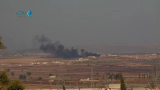 Video: Pejuang Suriah Tembak Jatuh Sukhoi 25 Rusia