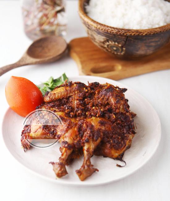 Resep Ayam Panggang Bumbu Rujak