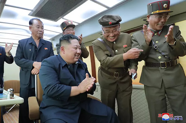 Kim Jong Un Guides Test-fire of New Weapon Again, August 16, 2019