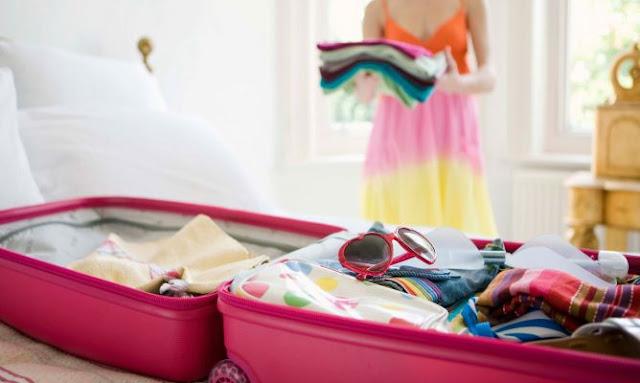Tips hacer maletas viajes
