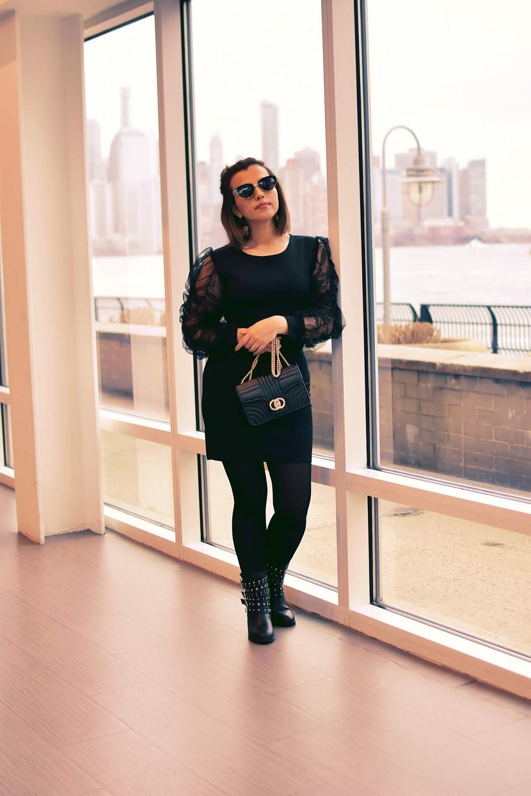 Feliz Día De San Valentín by Mari Estilo-dcblogger-armandhugon-total black look-