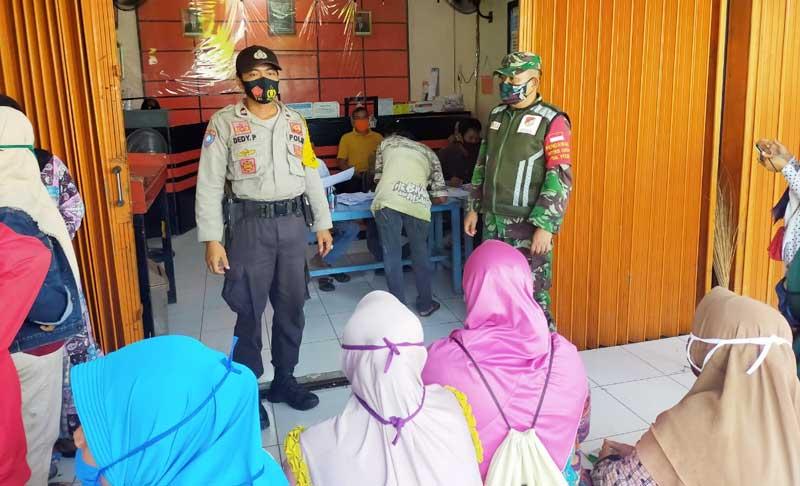 Dijaga ketat TNI-Polri