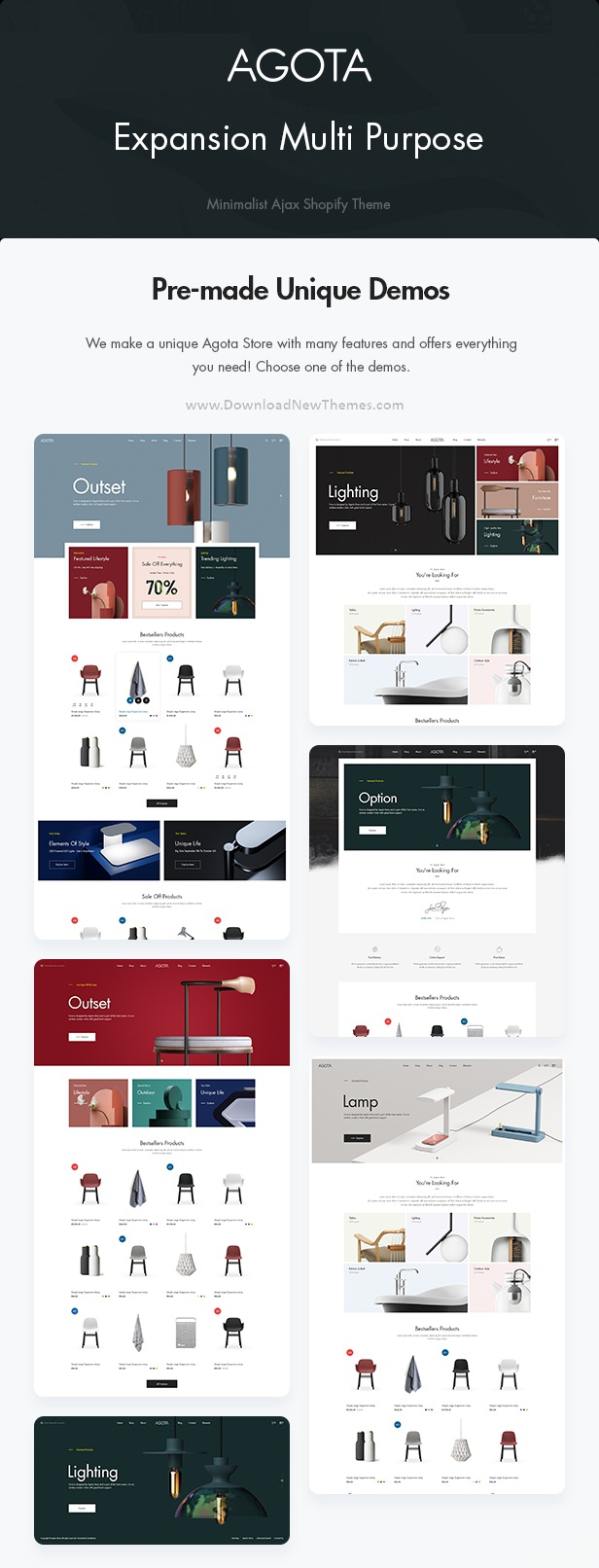 Furniture Shop Multipurpose Sections Shopify Theme