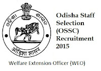 OSSC WEO Recruitment 2015 Previous Papers