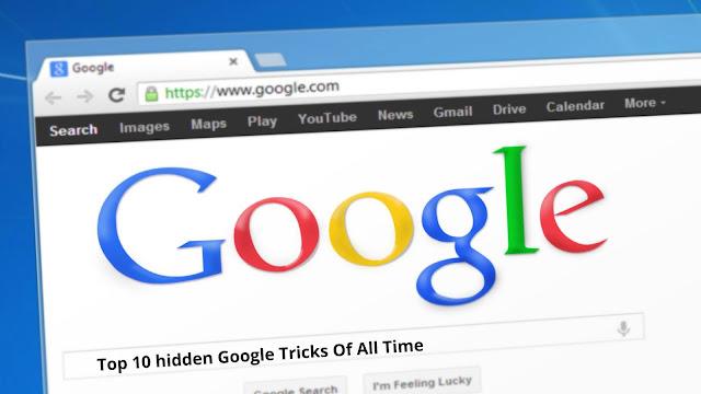 hidden google tricks