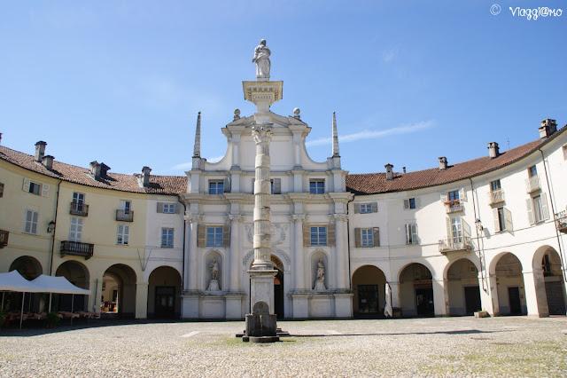 Una delle chiese del centro storico della Venaria Reale