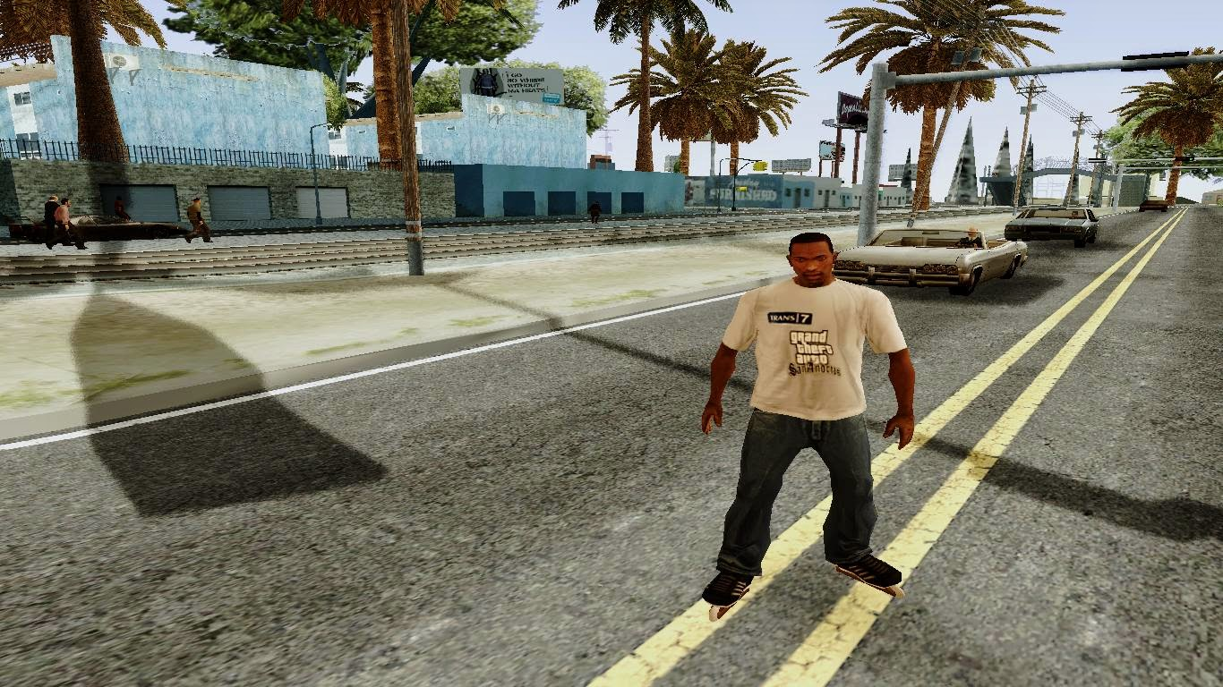 Roller Skates Gta San Andreas 2