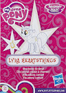 My Little Pony Wave 17 Lyra Heartstrings Blind Bag Card