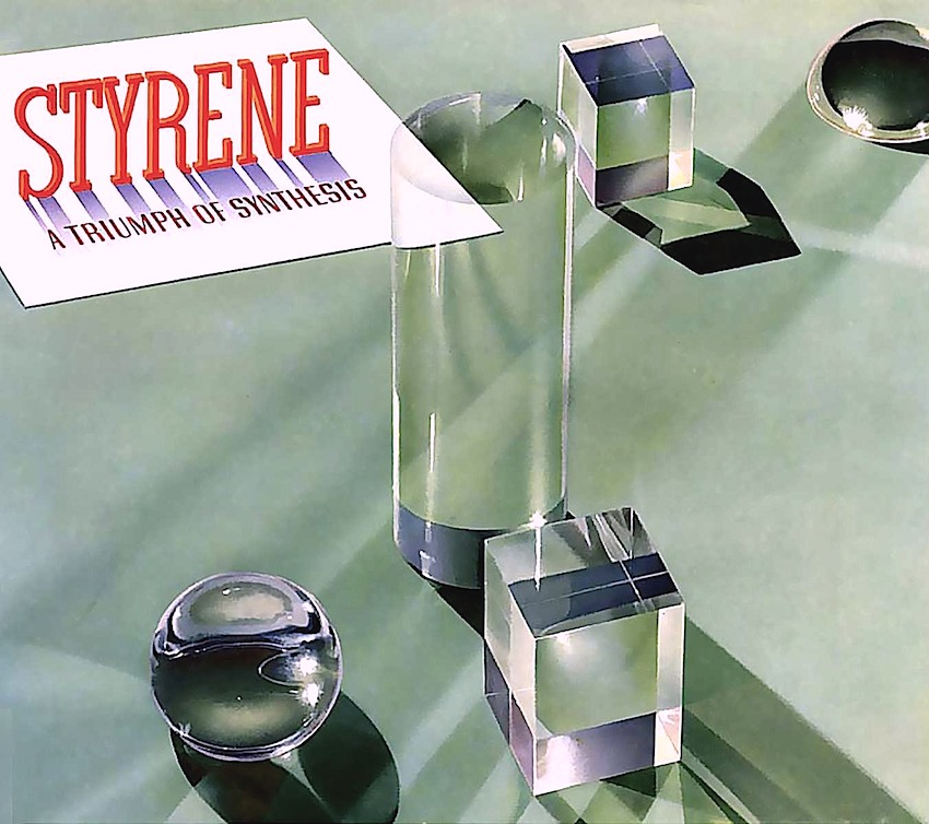 Styrene is a triumph of synthesis, 1937 illustration